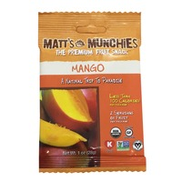 Matt's Munchies Premium Mango Fruit Snack Pack