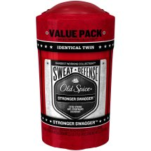 Old Spice Hardest Working Collection Men's Sweat Defense Antiperspirant & Deodorant, Stronger Swagger, 2.6 Oz, 2 Ct