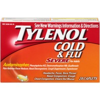 Tylenol® for Adults Adult Severe Cold & Flu Caplets
