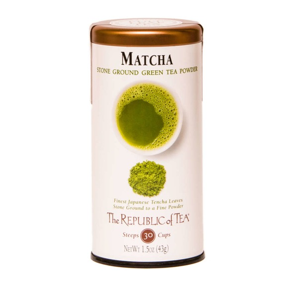 The Republic of Tea Matcha, Stone Ground Green Tea Powder