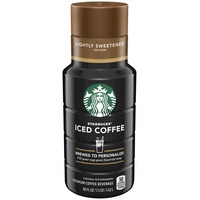 Starbucks Iced Coffee Lightly Sweetened for Flavor Iced Coffee