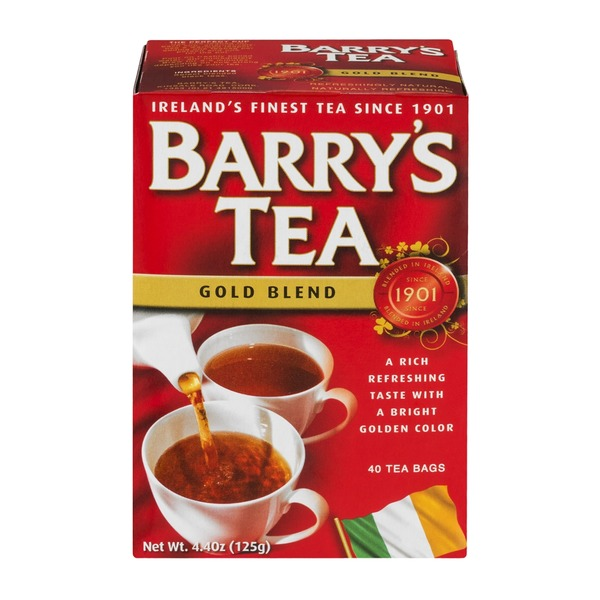 Barry's Tea Bags Gold Blend - 40 CT