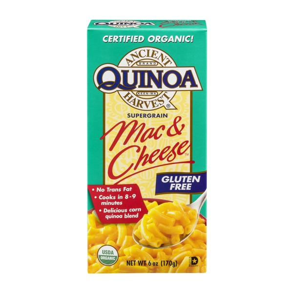 Quinoa Ancient Harvest Mac & Cheese Gluten Free