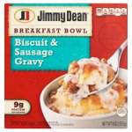 Jimmy Dean Breakfast Bowl Biscuit & Sausage Gravy, 9 oz