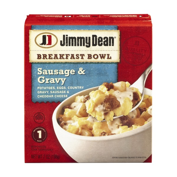 Jimmy Dean Breakfast Bowl Sausage & Gravy