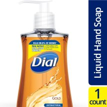 Dial Antibacterial Hand Soap with Moisturizer Gold, 9.375 FL OZ