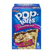 Kellogg's Pop-Tarts Frosted Cinnamon Roll Toaster Pastries, 8ct 14.1oz