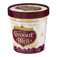 Luna & Larry's Coconut Bliss Organic Coconut Bliss Frozen Dessert Salted Caramel & Chocolate