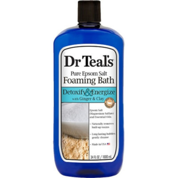 Dr. Teal's Pure Epsom Salt Detox Foaming Bath