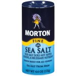 Morton Fine Mediterranean Sea Salt, 4.4 oz