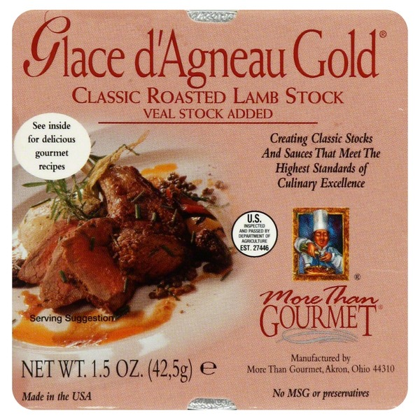 More Than Gourmet Lamb Stock, Classic Roasted
