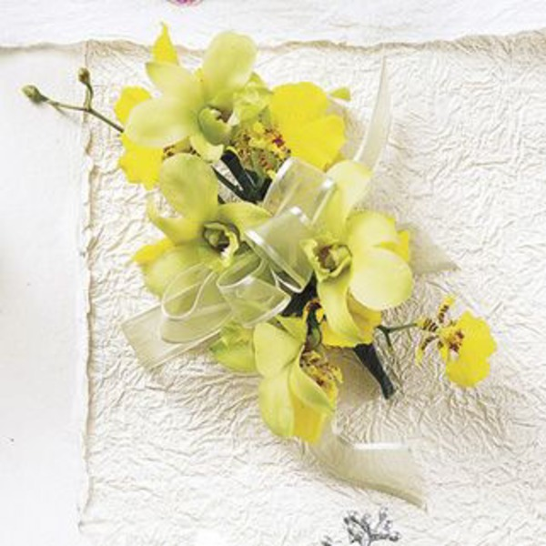 Floral Orchid Corsage Standard