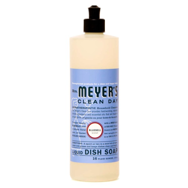 Mrs. Meyer's Clean Day Dish Soap Bluebell Scent
