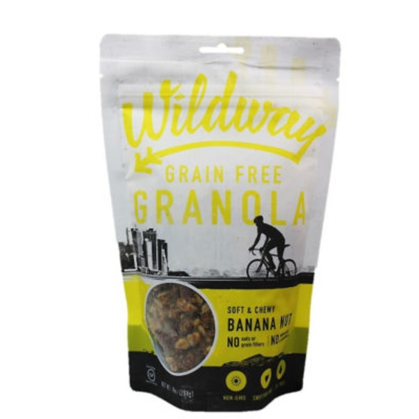 Wildway Soft and Chewy Banana Nut Granola