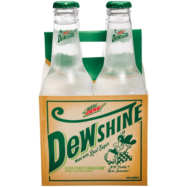 Mountain Dew DewShine Soda