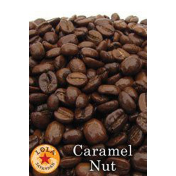 Lola Savannah Caramel Nut Whole Bean Coffee