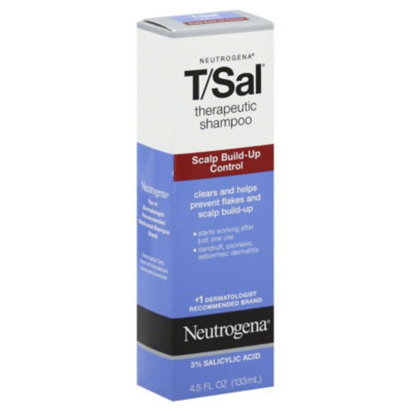 Neutrogena T/Sal Therapeutic Shampoo, Scalp Build-Up Control