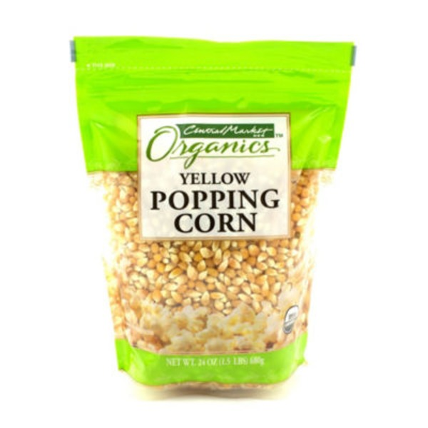 Central Market Organic Yellow Popping Corn
