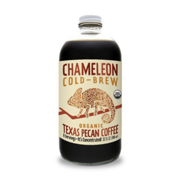 Chameleon Cold Brew Organic Texas Pecan Concentrate Coffee