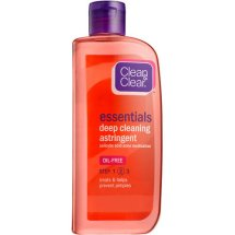 Clean & Clear Brand's Essentials Deep Cleaning Astringent For Clear Skin, 8 Oz
