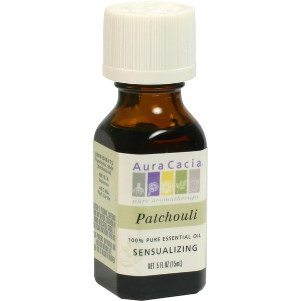 Aura Cacia Patchouli (Dark) Essential Oil