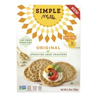 Simple Mills Sprouted Seed Crackers Original