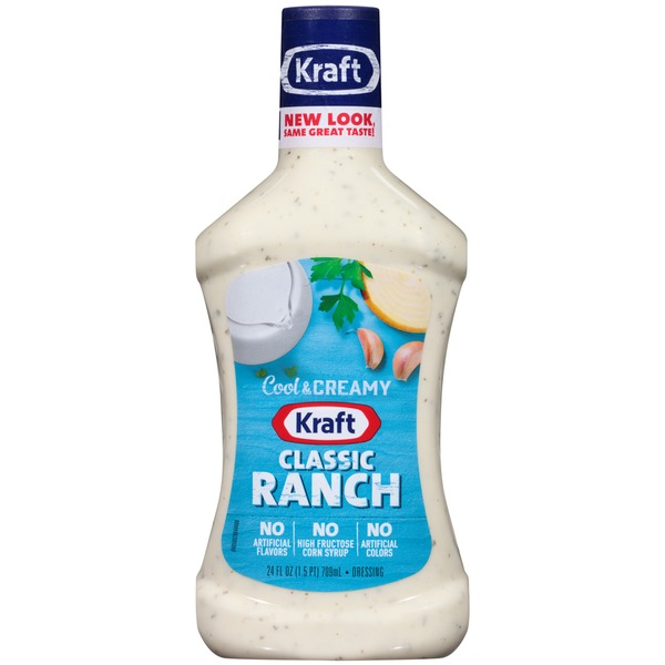Kraft Salad Dressing Ranch Classic Dressing