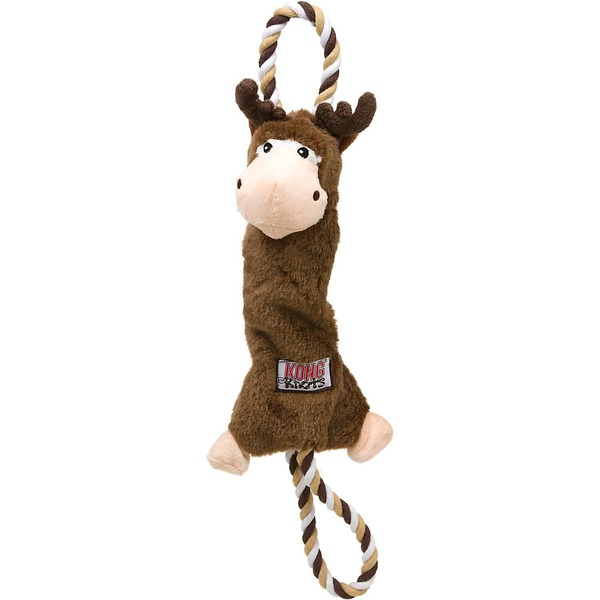 Kong Co. Tugger Knots Moose Dog Tug Toy