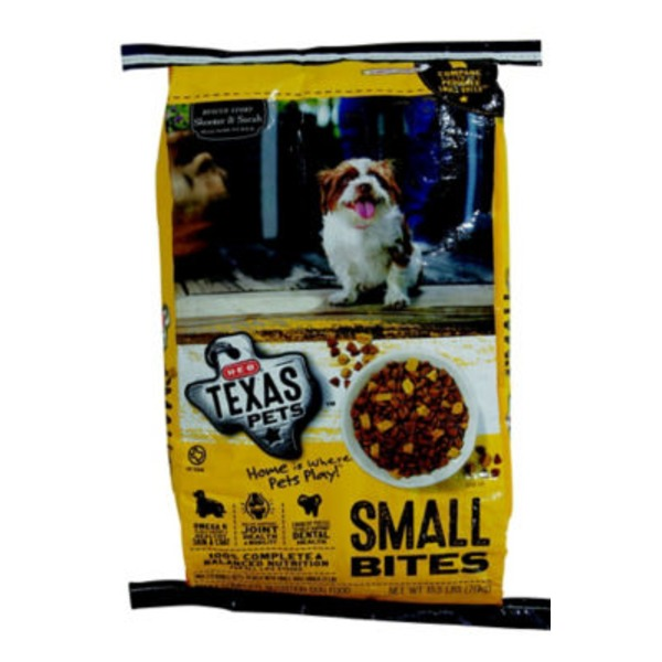 H-E-B Texas Pets Dry Dog Food Small Bites