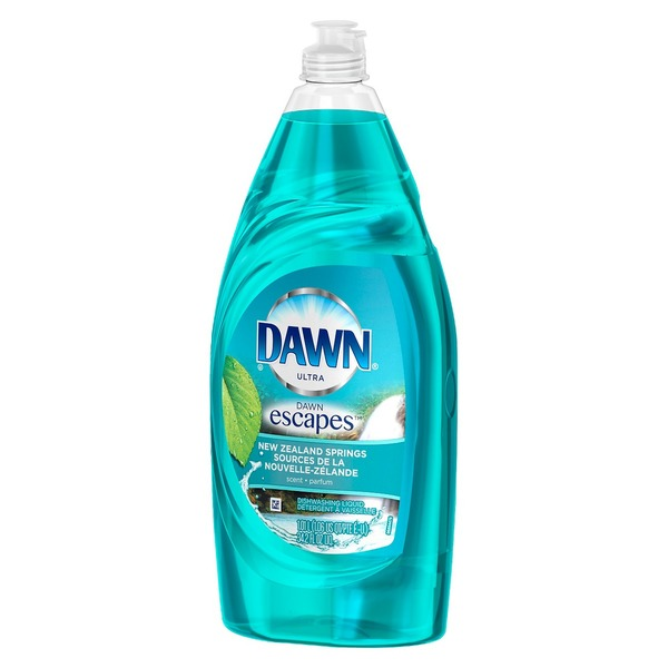 Dawn Ultra Escapes New Zealand Springs Scent Dishwashing Liquid