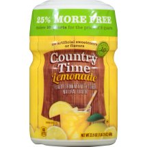 Country Time Drink Mix, Lemonade, 19 Oz, 1 Count