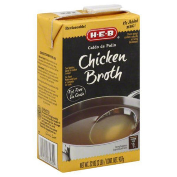 H-E-B Chicken Broth