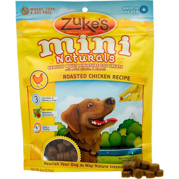 Zuke's Miniature Dog Treats, Chicken Formula