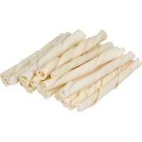 American Prime Cuts Rawhide Natural Twist Sticks Dog Chews