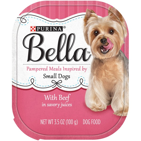 Bellas With Beef in Savory Juices Dog Food