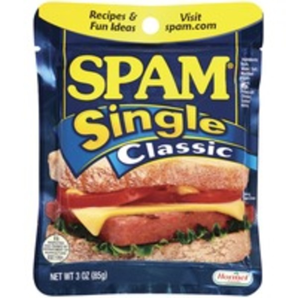 Spam Single Classic Canned Meat