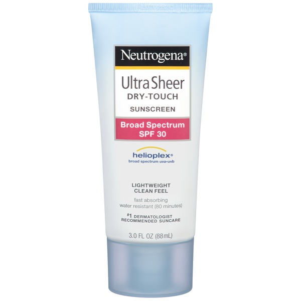 Neutrogena® Dry Touch Sunscreen SPF 30 Posted 5/21/2013 Ultra Sheer Sunblock