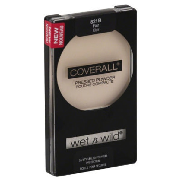 Wet n' Wild Coverall Pressed Powder 821B Fair
