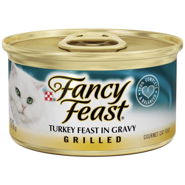 Fancy Feast Wet Grilled Turkey Feast in Gravy Cat Food