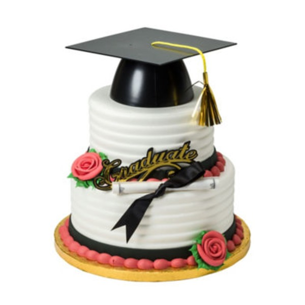 Graduation 10 In 2 Tier Cake