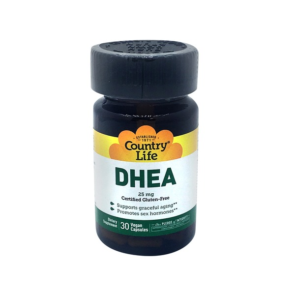 Country Life Dhea 25 Mg