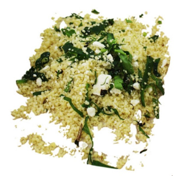 Central Market Spinach and Feta Cous Cous