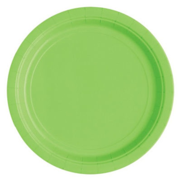 Unique Lime Green Plates