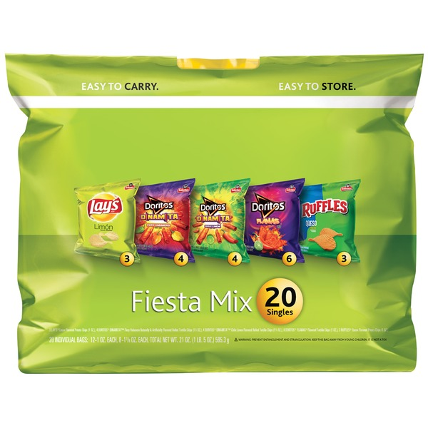 Variety Pack Fiesta Mix Snacks