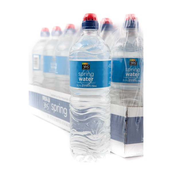 365 25.3 fl oz Bottles Spring Water