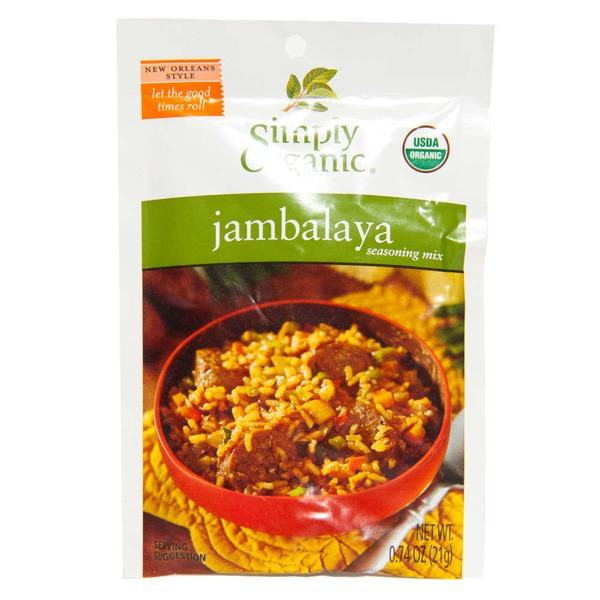 Simply Organic Jambalaya Seasoning Mix
