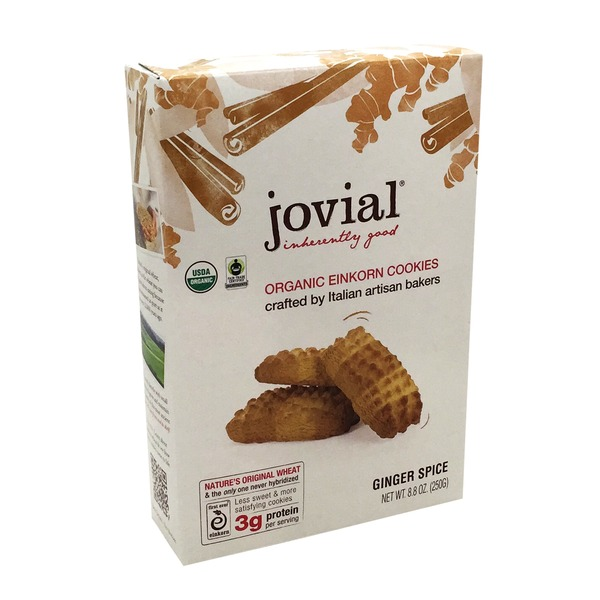 Jovial Organic Einkorn Ginger Spice Cookies
