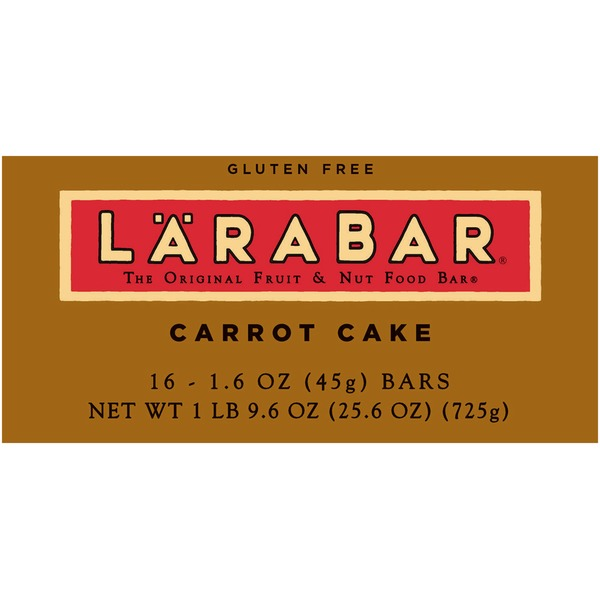 Larabar Carrot Cake Fruit & Nut Bars