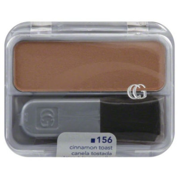 CoverGirl Cheekers COVERGIRL Cheekers Blendable Powder Blush, Cinnamon Toast .12 oz (3 g) Female Cosmetics