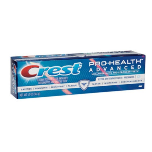 Crest Pro Health Crest Pro-Health Advanced Extra Whitening Power + Freshness Toothpaste 5.1 oz. Dentifrice